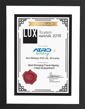 LUX Tourism Awards 2018